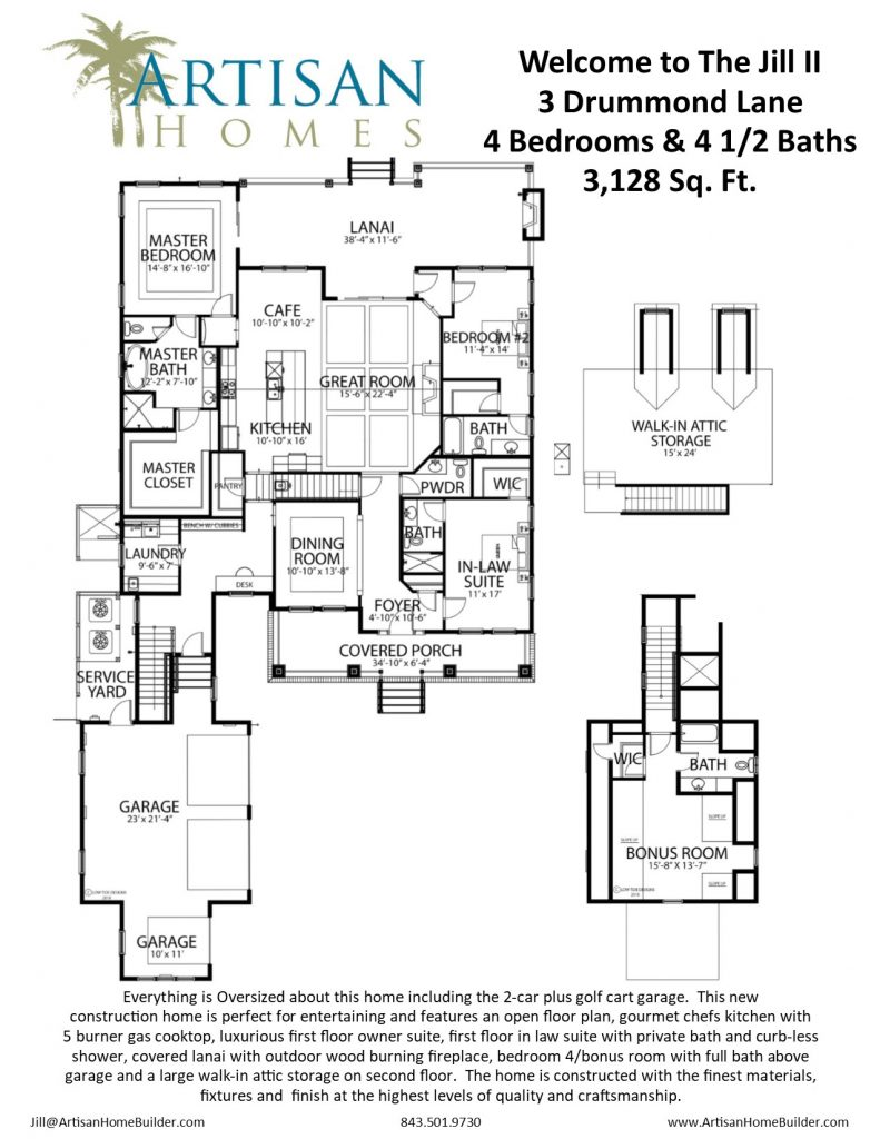 IR 14 (3 Drummond Lane Floorplan)